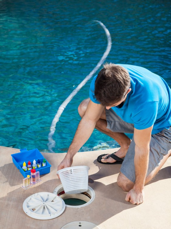 Pool Cleaning Routes : Weekly pool service diversified pros inc